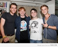 That awkward moment when Neville became the hot one...