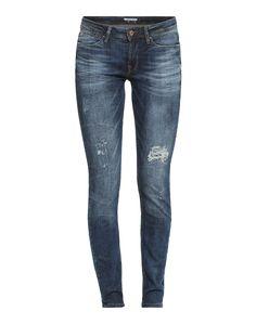 #EDC #BY #ESPRIT #Damen #Skinny #Jeans #blau Von der coolen Waschung über die Destroyed-Effekte bis hin zum schHerrenn Fit überzeugt die Skinny Jeans von EDC by Esprit auf ganzer Linie. Der klassische 5-Pocket-Stil könnte nicht schöner umgesetzt sein.