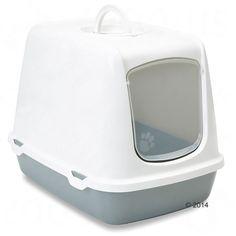 Animalerie  Maison de toilette Savic Oscar pour chat  1 filtre de rechange
