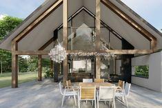 Moderne schuurwoning Veenendaal | The Citadel Company Building Design, Future House, Gazebo, Modern Farmhouse, Farm Barn, Tiny House, Beautiful Homes, Villa, New Homes