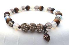 MultiGemstone Bracelet Stone Bracelet Energy by BlueStoneRiver, $26.95