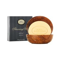 SHAVING SOAP WITH WOODEN BOWL The lather will protect the skin and softens the beard while providing an extremely close shave. $62.00 For a more traditional wet-shave experience, the Shaving Soap generates a rich, proper lather that assists in razor glide to prevent irritation and burn. Formulated with glycerin and coconut oil, the shaving soap is best when used with a shaving brush and hot water. The lather helps keep the beard hair lifted for a close cut. See more: ingajohnsonsite.com