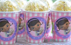 Doc McStuffins Party CupsPopcorn BoxSet of 8 by SignatureAvenue, $8.40