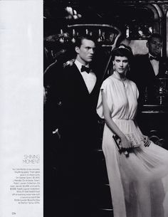Cafe Society by Karl Lagerfeld for  Harpers Bazaar