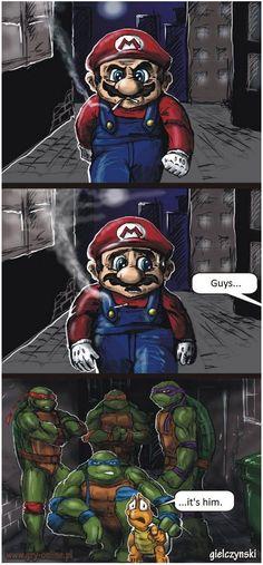 Sale journée pour Mario