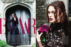 Кира Найтли (Keira Knightley) в сентябрьском Harper's Bazaar UK. Актрису фотографировала Эллен фон Унверт (Ellen Von Unwerth).