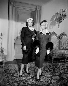 Marilyn Monroe and Jane Russell, Gentlemen Prefer Blondes, 1953