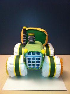 Diaper Tractor - $75 - Lynsey's Custom Diaper Creations