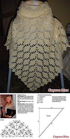 As a gift, shawl .: Diary group & quot; All in openwork ... (Crochet) & quot;  - Home Moms