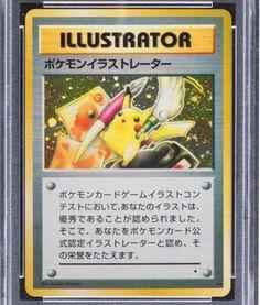 Pokémon Illustrator Trading Card Sells for an Impressive US$54,000
