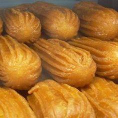 Greek Sweets, Greek Desserts, Greek Recipes, Snack Recipes, Dessert Recipes, Cooking Recipes, Snacks, Greek Cookies, Cake Cookies