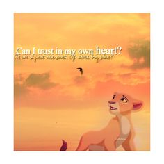 Favorite sequel #1- The Lion King II: Simba's Pride