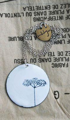 elderflower necklace, j & b