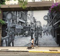 by Eduardo Kobra in São Paulo (LP)