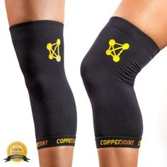 91879ed00b CopperJoint Copper Knee Brace 1 Compression Fit Support GUARANTEED Recovery  Sleeve Wear Anywhere Large Single >>> Learn more by visiting the image link.