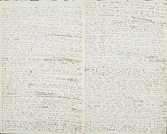Diary entry by Charlotte Brontë, 1836. [via]