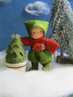 Weihnachtswichtelkind http://Silberdiestel.dawanda.com
