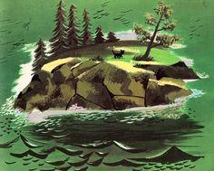 Leonard Weisgard, 'The Little Island'