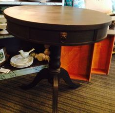 another typewriter drum table
