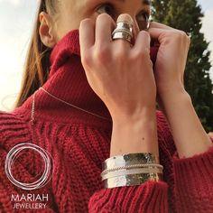Ο χειμώνας ήρθε για τα καλά και μαζί του και τα πλεκτά! Δώσε λάμψη στα πλεκτά σου ρούχα με κοσμήματα απο την Mariah Jewellery!!❤️  E657 ΒΡΑΧΙΟΛΙ 39,90€  D9090 ΔΑΧΤΥΛΙΔΙ 19,90€   #mariahjewellery #mariah #jewellery #cathrene #shopponline #shoppingtherapy #buyonline #shopthelook Accessories, Fashion, Moda, Fashion Styles, Fashion Illustrations, Jewelry Accessories