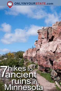These 7 Trails In Minnesota Will Lead You To Extraordinary Ancient Ruins - Seven remote trails lead to Minnesota& oldest ruins and discover what ancient peoples left be - Places To Travel, Places To Go, Travel Destinations, Ancient Ruins, Ancient History, To Infinity And Beyond, Outdoor Travel, Travel Usa, Beach Travel
