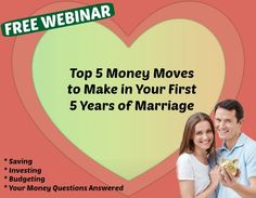 FREE amazing marriage finance program!!     This looks so good!  The online presentation will be on Nov. 7th at 6:30 PM PT.  You can enter your email to receive the webinar link. AND if you can't make the live event, they will send you the recording.
