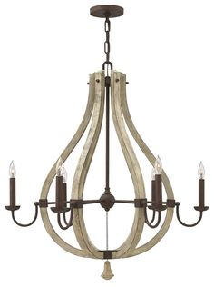 HK/MIDDLEFIELD6 Middlefield 6 Light Chandelier Light from Lights 4 Living