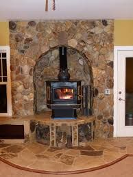 Elevate Wood Stove To Allow For Seating And Firewood
