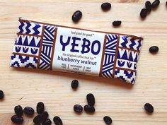 Packaging and Identity design for Yebo, a company that produces protein bars made from the fruit of the coffee plant. Yebo wanted a look that gave reference to traditional African design, while sti...
