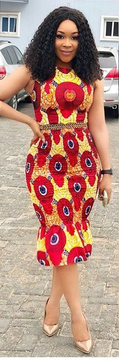 African Print Dresses are . African Dresses For Women, African Print Dresses, African Print Fashion, Africa Fashion, African Attire, African Wear, African Fashion Dresses, African Women, Ankara Fashion