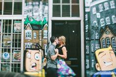 London Shoreditch Engagement Shoot   Alternative & Creative Wedding Photography UK & Destination   weheartpictures.com   Street Art
