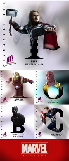Avengers Poster, Poster Series, Infinity War, Panther, Thor, Captain America, Marvel, Fan, Photo And Video