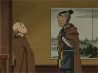 Avatar: The Last Airbender - Aang and Sokka /// afaggdgsg this is the best Avatar Aang, Avatar Airbender, Avatar Funny, Team Avatar, Aang Funny, Avatar The Last Airbender Funny, Zuko, Blade Runner, Fairy Tail