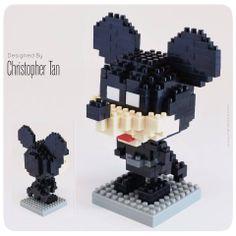 nanoblock BatMouse ^^ ... Mickey Mouse and Batman crossover