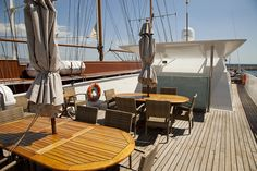 On deck of the Harmony G