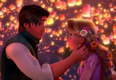 Classic Romantic Moment: Tangled - Rapunzel and Eugene