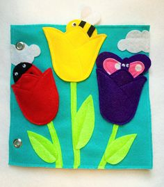 Nuevo Tulipanes tranquilo libro página solo