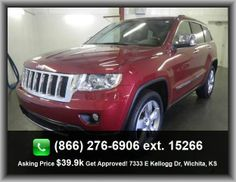 2012 Jeep Grand Cherokee Overland SUV  Fuel Consumption: Highway: 23 Mpg, Wheel Diameter: 20, Memorized Settings Including Audio, Braking Assist, Cruise Control, Cargo Tie Downs,