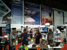 electric winch boat show display - Google Search