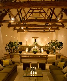 Dining in the Tithe Barn Overview