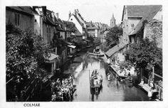 La petite Venise Colmar / Alsace / France www.tourisme-colmar.com