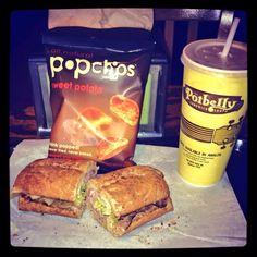 your #potbelly sandwich has a sweet new wingman #sweetpotato #popchips