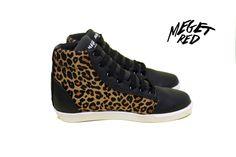 leopard sneakers  animalprint snekears  www.facebook.com/megetredmx