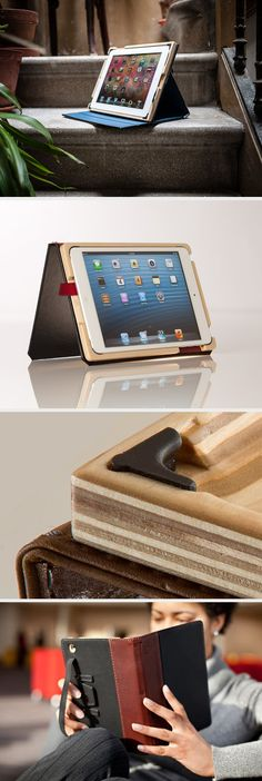 Wooden Case for iPad Air: Nest and protect your precious device with a style!  - www.MyWonderList.com