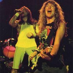 Bruce Dickinson & Janick Gars - Iron Maiden.