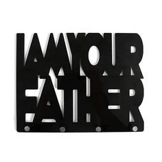 Porta-Chaves I Am Your Father - 25 x 19,3 cm