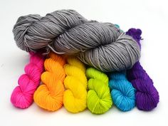 This is the quintessential sock knitting yarn, the well rounded shape of the strand is ideal for all projects and will yield a lovely finished project. Ideal for long lasting, hard working, everyday socks. Classic brings the perfect combination of superwash and nylon for a sturdy yet delicately soft yarn base. This base has skyrocketed to our best-seller list among wholesale and retail customers. 6 mini skeins, each weighs 20g for a total of 120g and 526 yards. 75% superwash merino 25%…