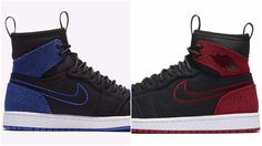 The Air Jordan 1 Ultra High Black Red Bred & Royal Are Available Now Below Retail