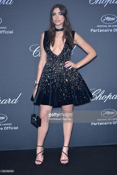 Dua Lipa attends the Chopard Party at Port Canto during the 69th annual Cannes Film Festival on May 16, 2016 in Cannes, France