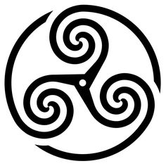 TRISKEL means many things so it's why it's an important Symbol like the others (Past, Present, Future), (Standbuy, Sleep, Dream), (Childhood, Adulthood, Old Age), (Sky, Air, Land) it's also the symbol for communication with the divine 3 level